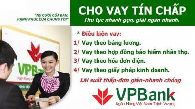 Vay tín chấp VPBank tăng trưởng mạnh quý I/2018